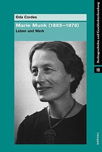 book cover Marie Munk (1885-1978): Leben und Werk