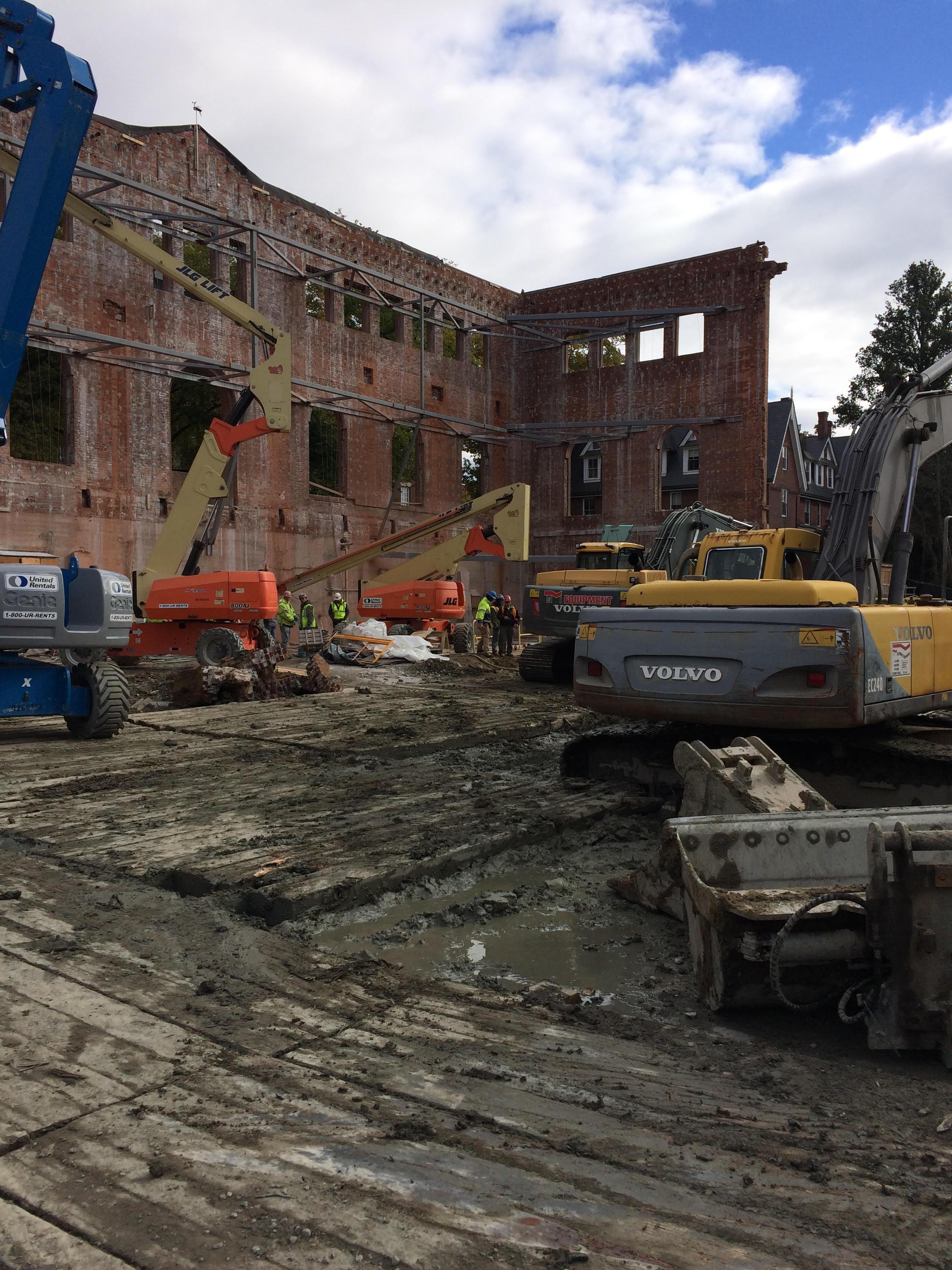 Construction site 1909 core November 2018