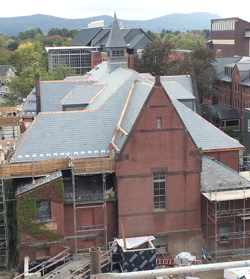 Alumnae Gymnasium roof replacement