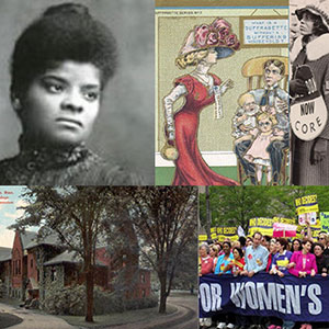 collage of images from the College Archives