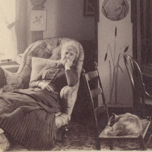 Fanny A. Dart, the Housemother of Hubbard House c. 1880