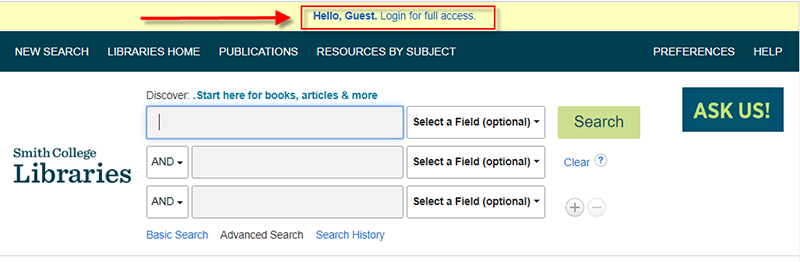 Discover - Login for full access