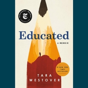 book cover Educated by Tara Westover