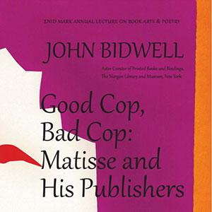 poster Good Cop Bad Cop by John Bidwell