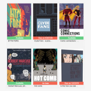 graphic novels book covers