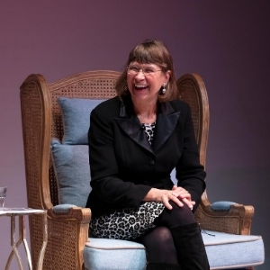 Karen Kukil at the Charleston to Charleston Literary Festival. Photo credit: Electric Egg.