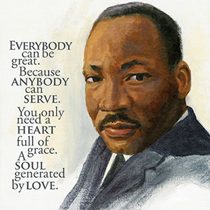 Martin Luther King Day poster