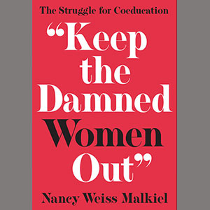 "book cover ""Keep the Damned Women Out"""