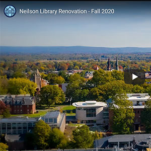 Aerial view of New Neilson Fall 2020