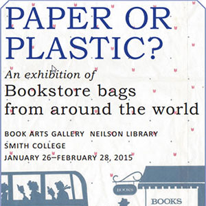 Poster for Paper or Plastic exhibition