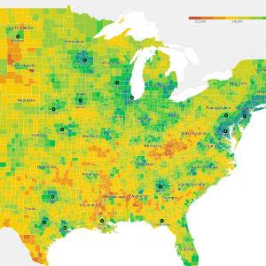 Spatial Analysis Lab map image