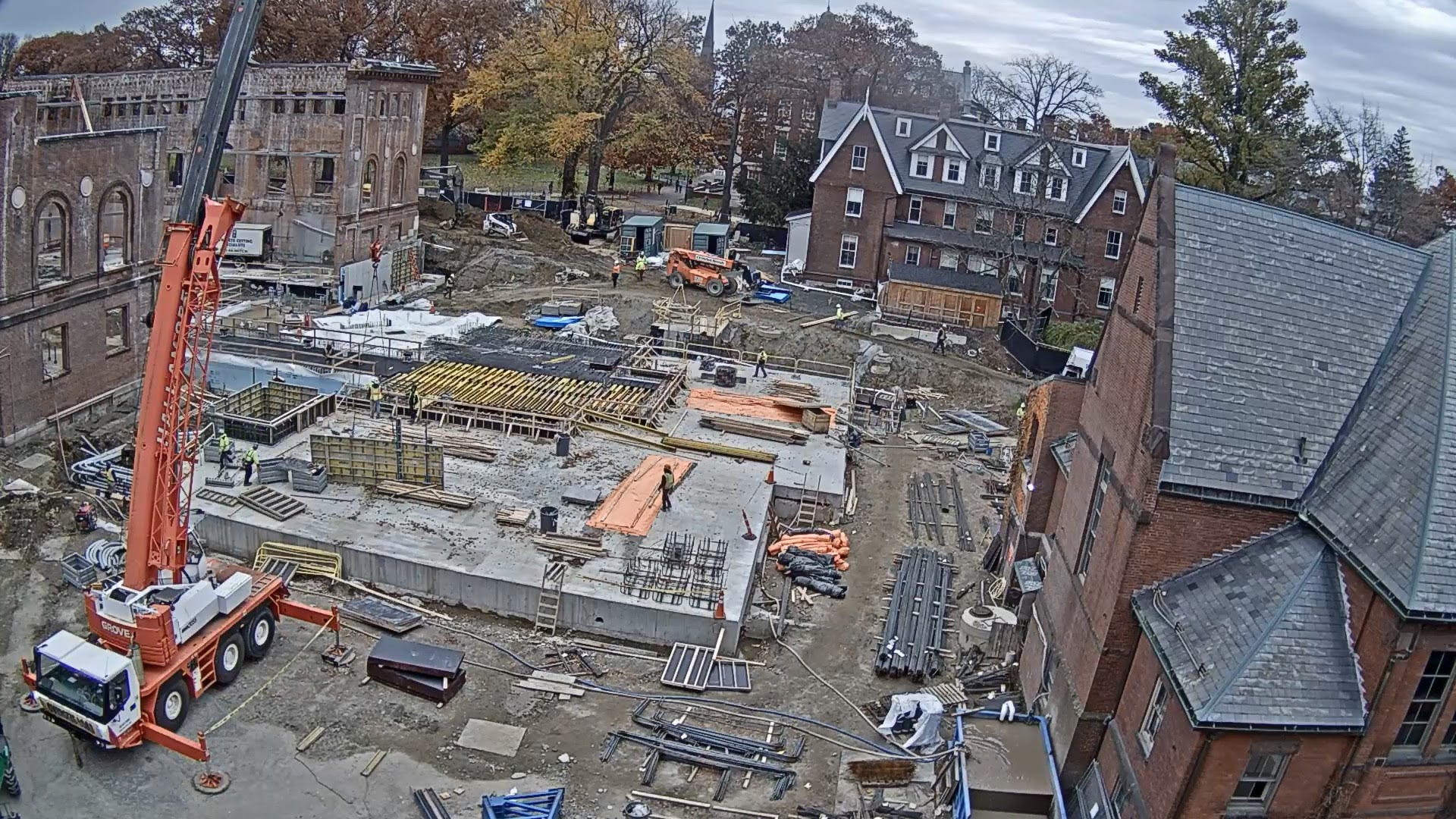 South addition construction site November 2018