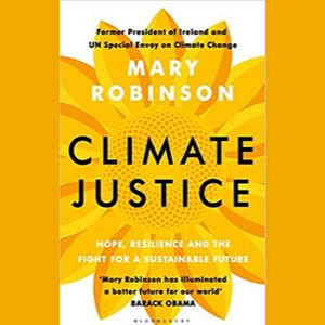 Book cover Climate Justice by Mary Robinson