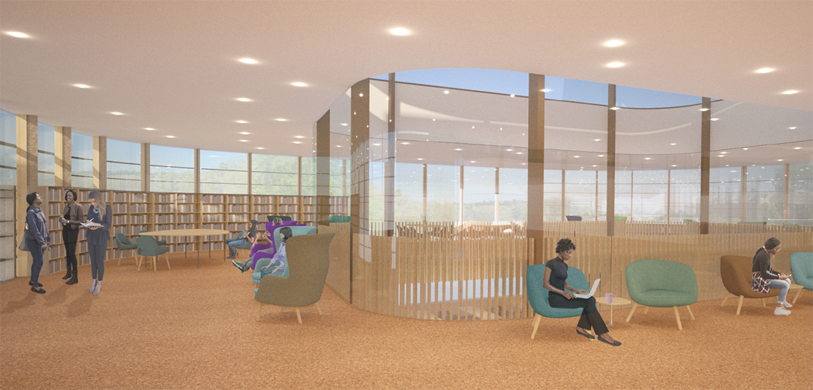 New Neilson North jewel box level 3, study and research