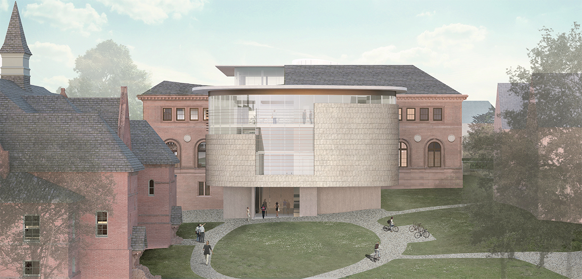 New Neilson Library south elevation
