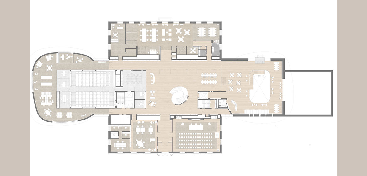 New Neilson Library level 1 site plan