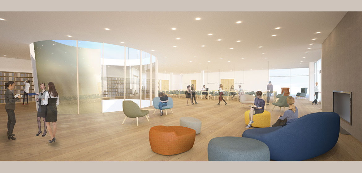 New Neilson Library Skyline Reading Room