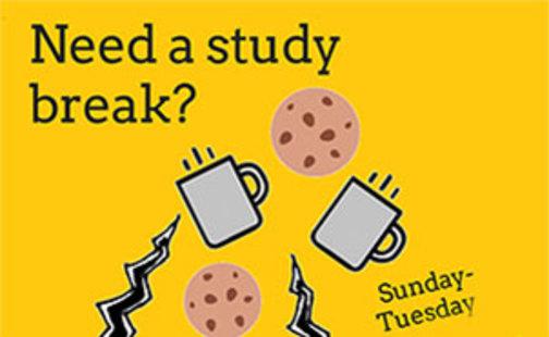 Need a study break? poster