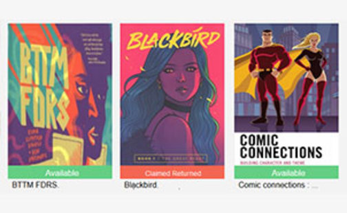 book covers graphic novels