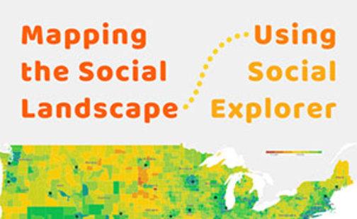 Mapping the social landscape using social explorer