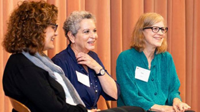 "Liz Szabla, Jean Feiwel & Ann M. Martin '77, ""Writing for Young Readers"" panel discussion"