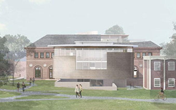 Maya Lin Studios rendering of Neilson Library