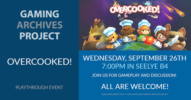 Gaming Archives Project playthrough event graphic