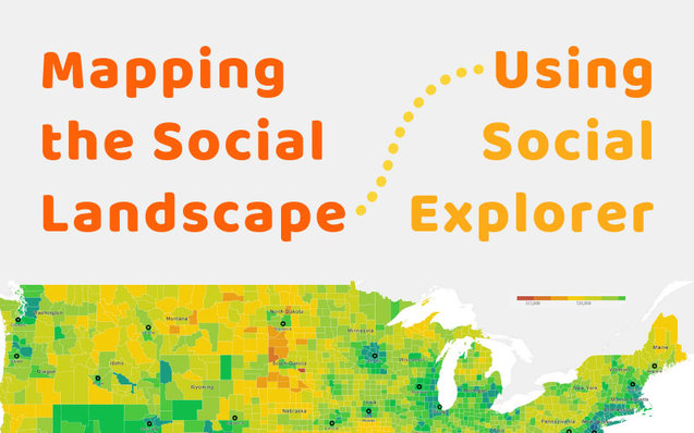 Mapping the social landscape using social explorer