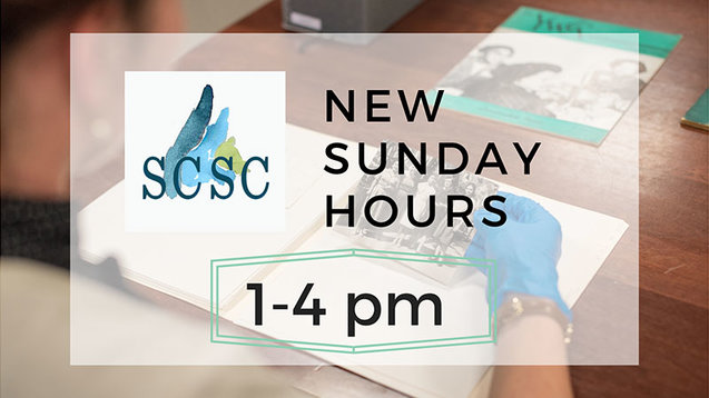 Smith College Special Collections Sunday Hours 1-4 p.m.