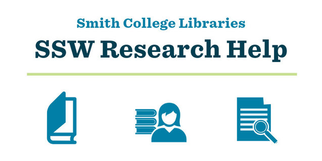Smith College Libraries SSW Research Help