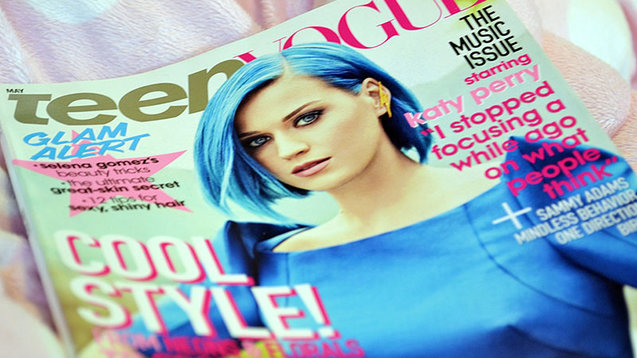 Teen Vogue cover with Katy Perry