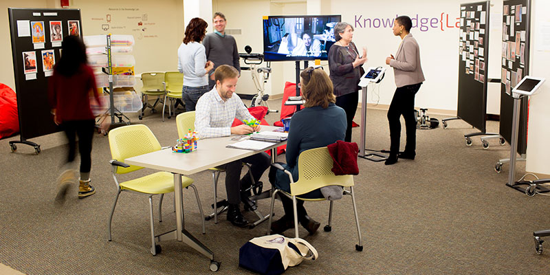 KnowledgeLab in Neilson Library
