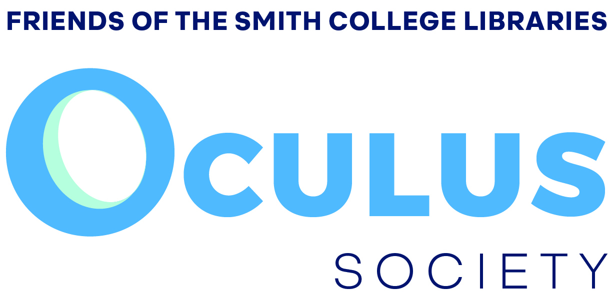graphic with the words oculus society