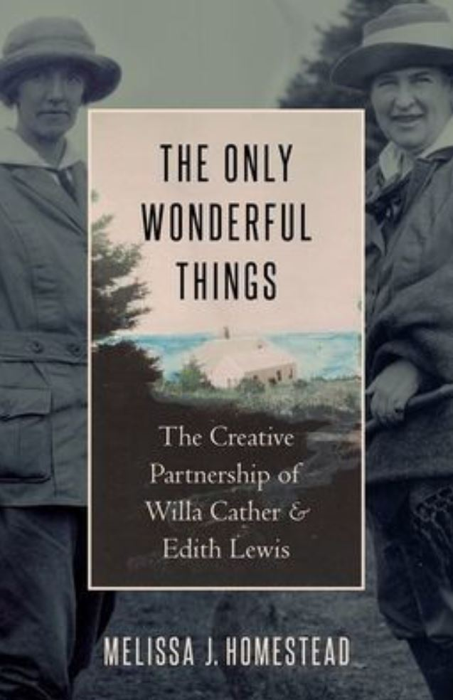 book cover of two white women in early 20th century America