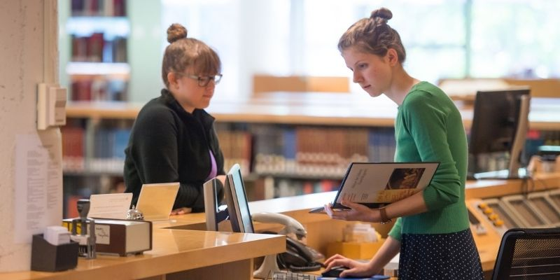 Library Student worker jobs