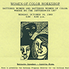 Power of Women's Voices exhibit
