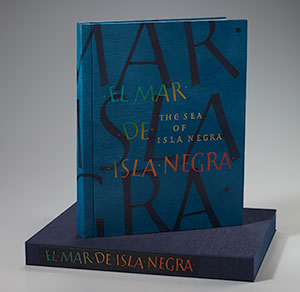 Daniel E. Kelm's cover design for The Sea of Isla Negra