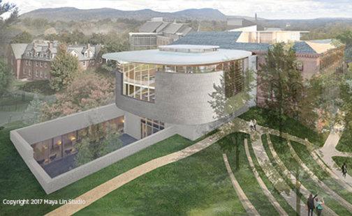 Maya Lin design, northwest view