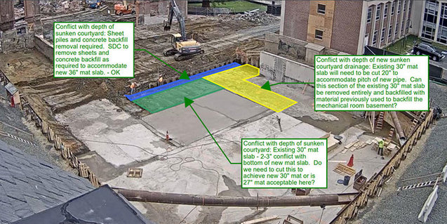 New Neilson construction site June 7 2018