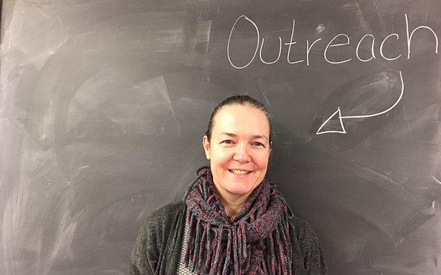 Outreach Librarian Jodi Shaw