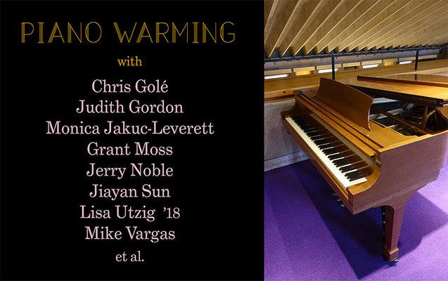 Piano Warming November 17 poster
