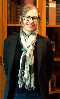 Shannon Supple, Curator of Rare Books