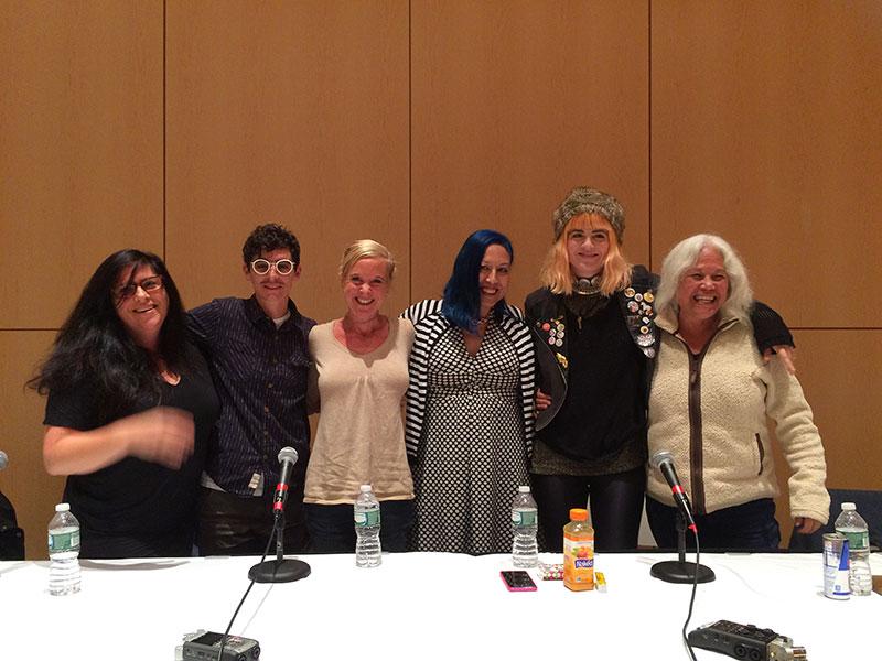 Women and Rock panel, 2015